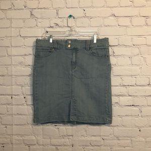Gap Short Denim Skirt